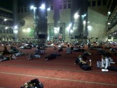 I'tikaf di Masjid Istiqlal